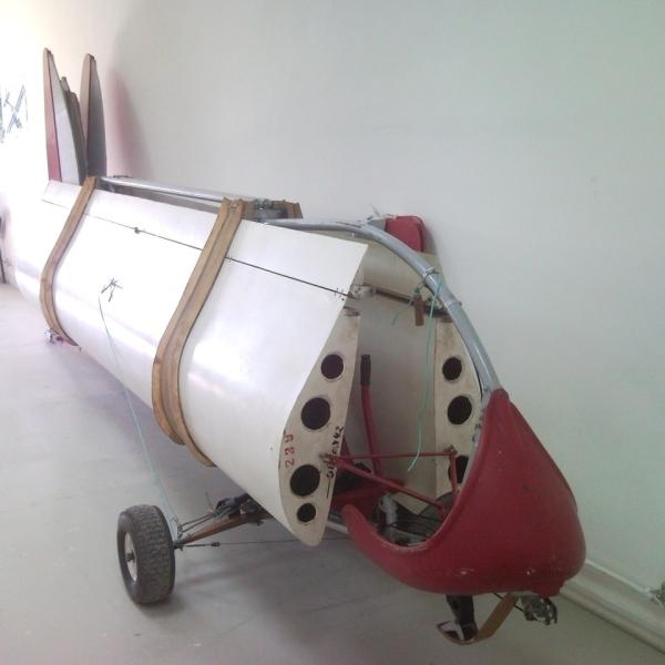 4.ЛАК-16 в разобранном виде.