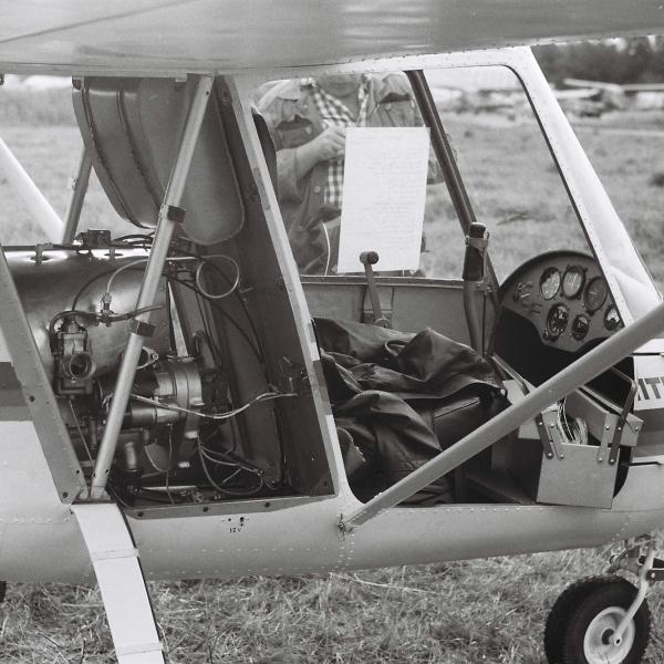 4.Легкий самолет Оптимист. СЛА-89. Рига, 1989 г..