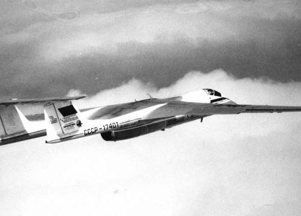 4.М-17 Стратосфера в полете. 2