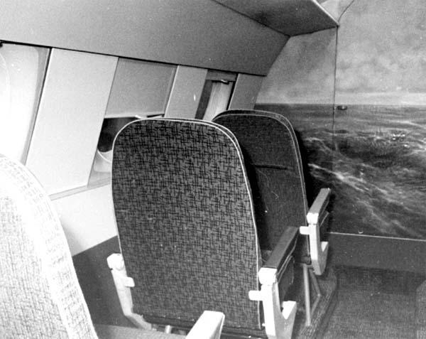 4.Пассажирский салон (левый борт).