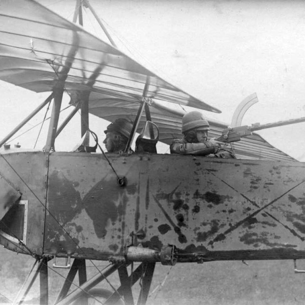 4.Русские летчики в Morane-Saulnier L.