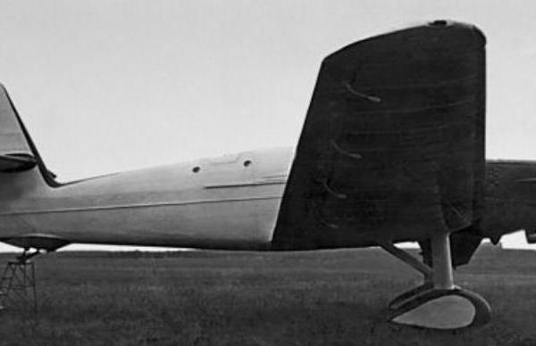 4.Стратоплан БОК-1 с двигателем М-43РНТК