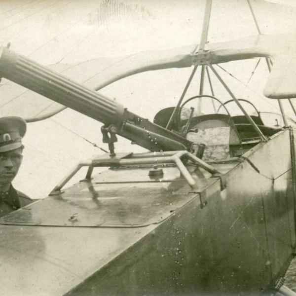 4а.Вид на кабина Morane-Saulnier L.