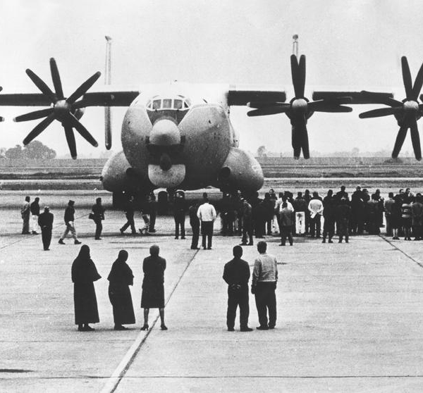 5.Ан-22 СССР-09304 прибыл в Перу.