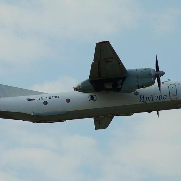 5.Ан-26Б в полете.