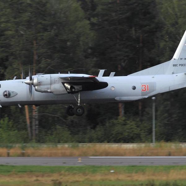 5.Ан-26РТ заходит на посадку.