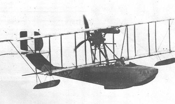 5.FBA Type С в полете.