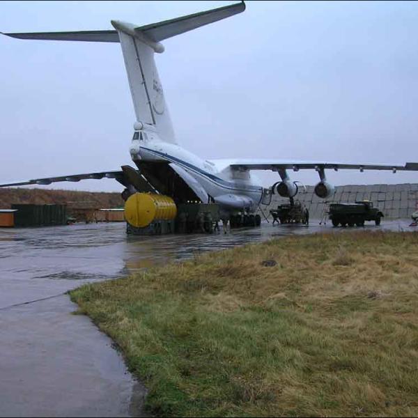 5.Ил-78, подготовка заправочного оборудования.