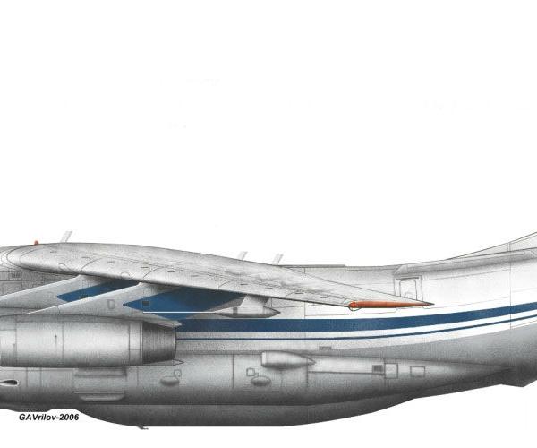 5.Ил-82 (Ил-76СК). Рисунок.