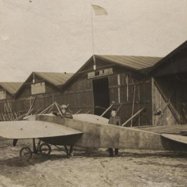 5.Nieuport-IV Гатчинской авиашколы. 1913 г.