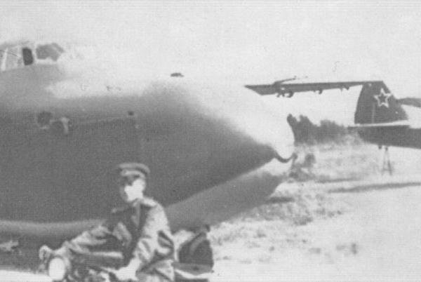 5.Планеры Ц-25, аэродром Торжок. 1944 г