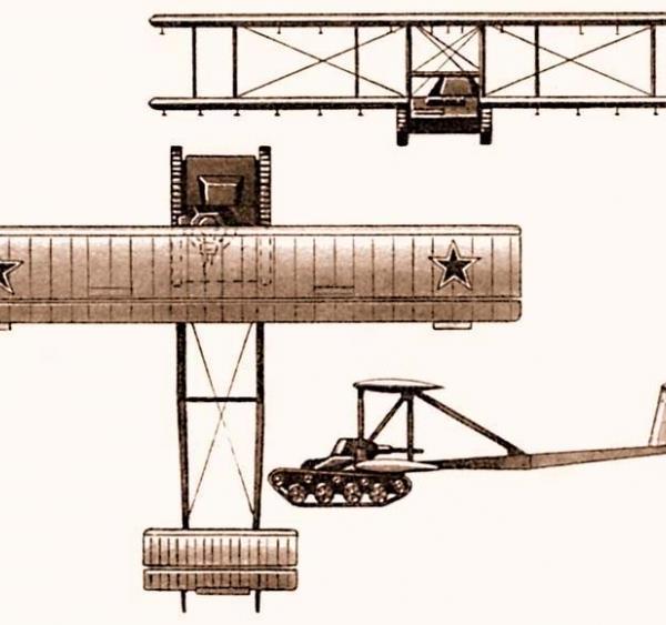 5.Проекции А-40 (КТ). Рисунок.