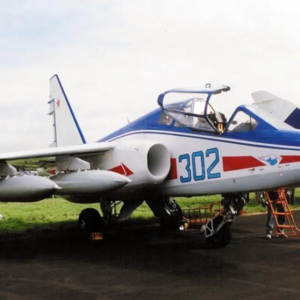 5.Су-28 на авиасалоне Ле Бурже.