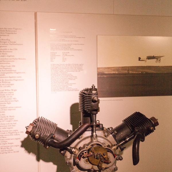 5.Трёхцилиндровый Anzani в авиамузее г.Мюнхен.