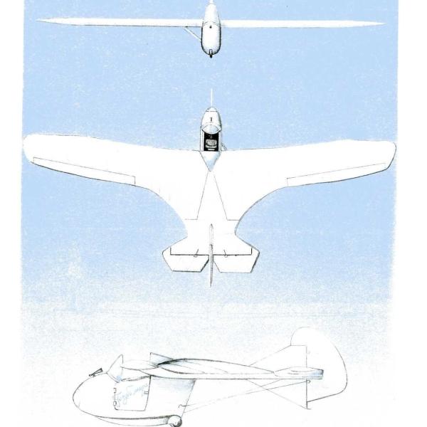5а.Проекции МАК-15. Рисунок.
