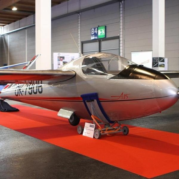 5в.Планер А-15. Где-то в Германии.