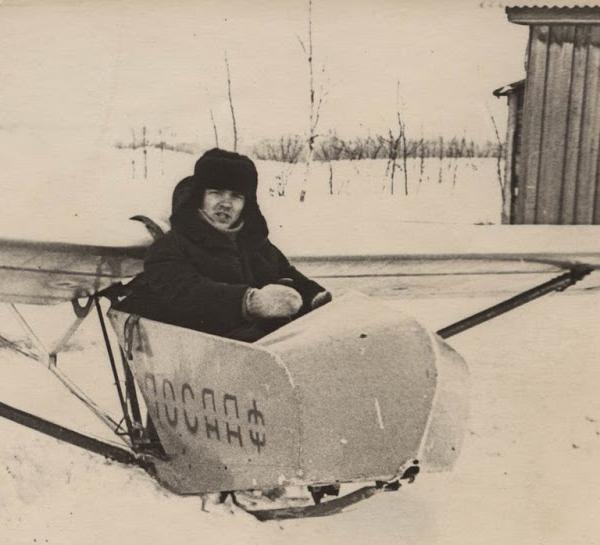 Àýðîäðîì ×åðòàíîâî 1966ã., ÞÏØ, Òèìêèí Àëåêñàíäð, ïëàíåð ÊÀÈ-11
