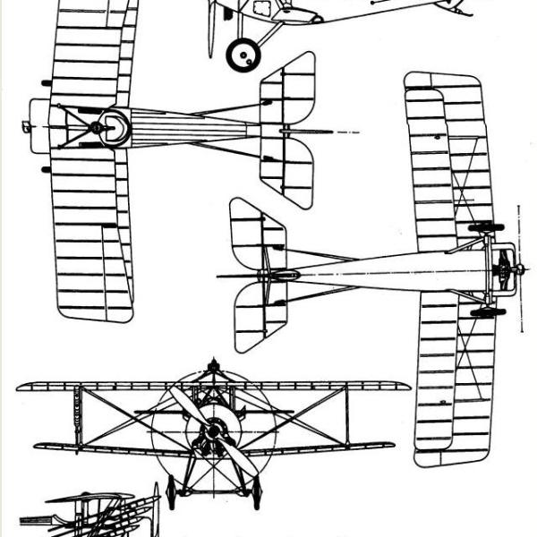 6.Nieuport N.11. Схема 1.