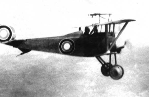 6.Русский Nieuport N.21 в полете.