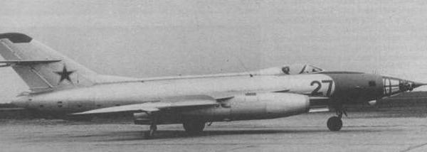 6.Як-27Р на контрольных испытаниях, 1959 г. 2