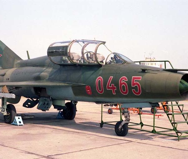 6а.МиГ-21У ВВС Венгрии.