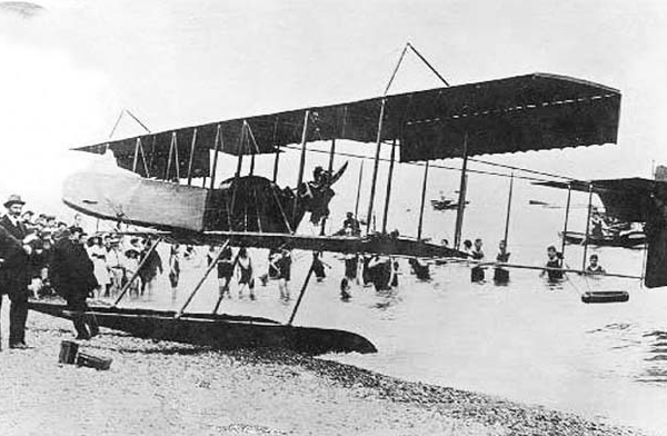 7.Гидровариант Farman F.XXII.