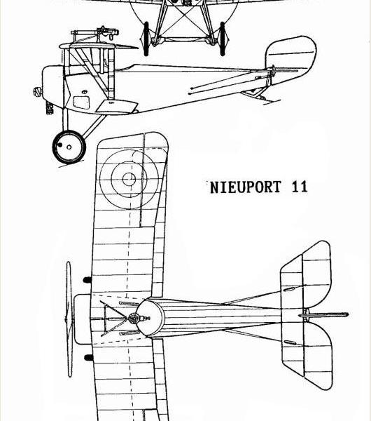 7.Nieuport N.11. Схема 2.
