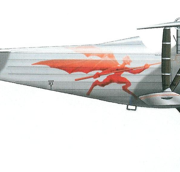 7.Nieuport N.24 ВВС Польши. Рисунок.