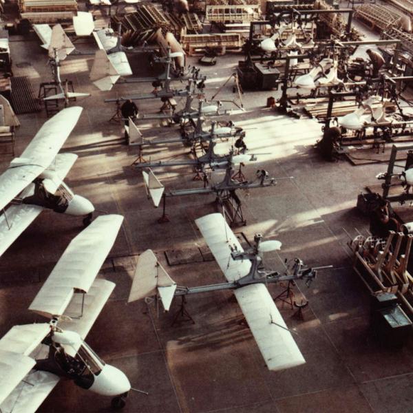 7.Серийное производство самолётов Авиатика-МАИ-890 на заводе ОСКБЭС МАИ, 1993 г.