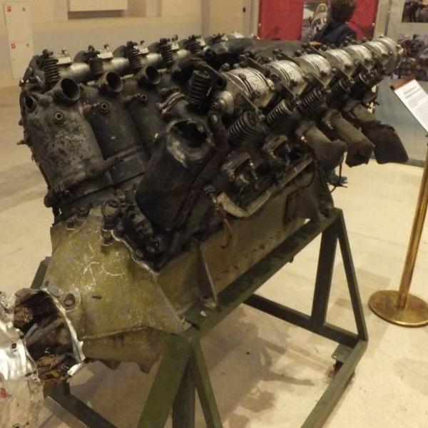 7а.Двигатель М-17Ф с самолета Р-5.