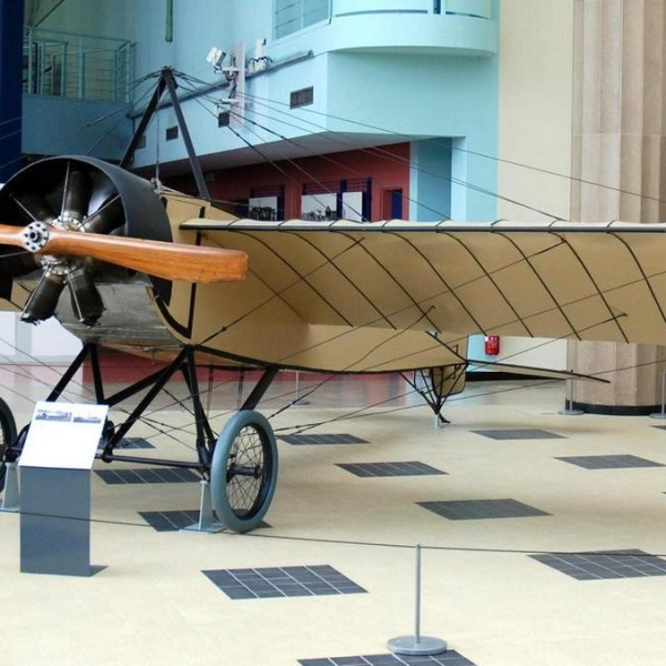7а.Morane-Saulnier G в авиамузее.