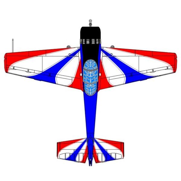 7а.Проекции Як-55. Рисунок.