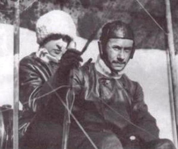 7в.B.А.Слюсаренко и Л.В.Зверева перед стартом.