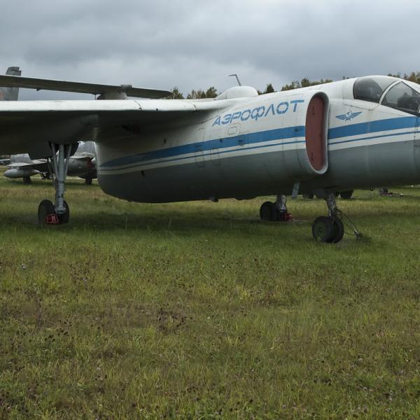 8.М-17 Стратосфера в музее ВВС Монино. 2