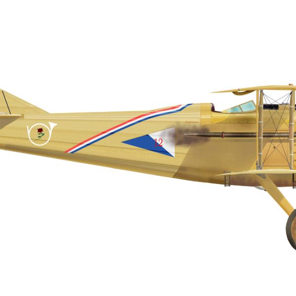 8.SPAD S.VII ВВС Франции. Рисунок.