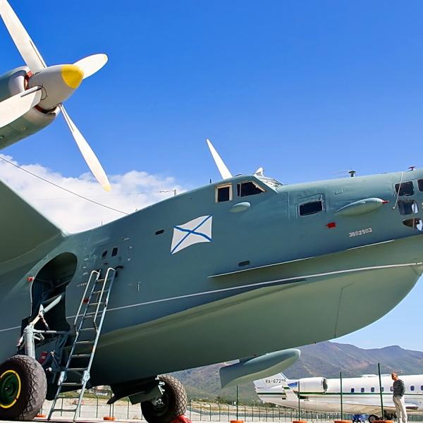 9.Бе-12 на авиавыставке. 2
