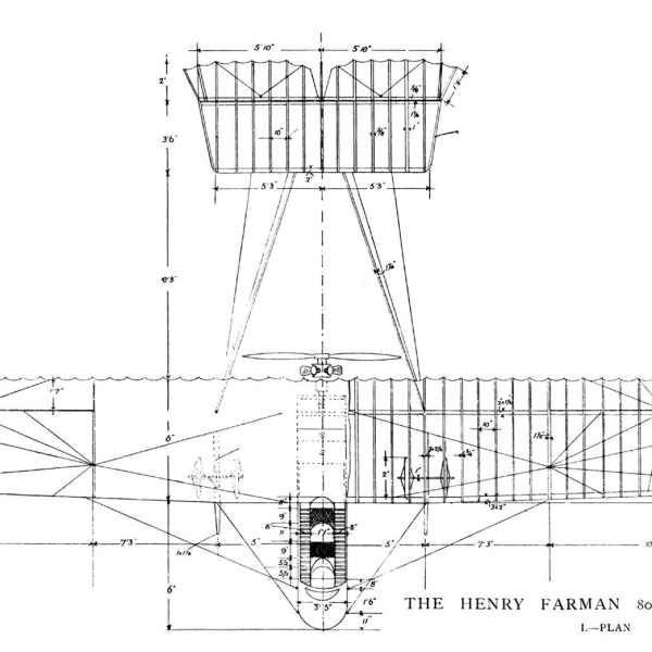 9.Farman F.XX. Чертеж 2