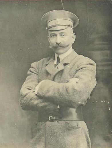 Авиатор Владимир Эристов.