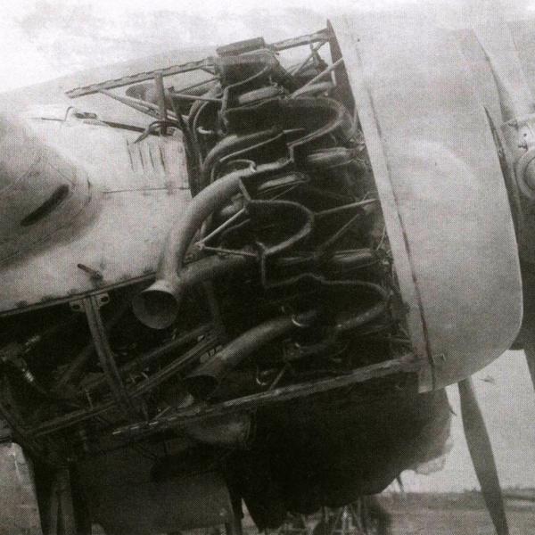 Двигатель М-87А на ДБ-3Б. 1939 г.