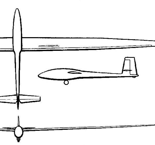 Летува БК-7. Схема