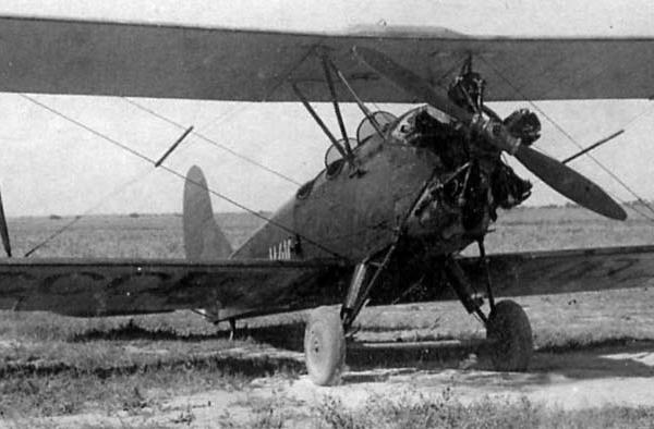 Самолет У-2 с двигателем М-12.