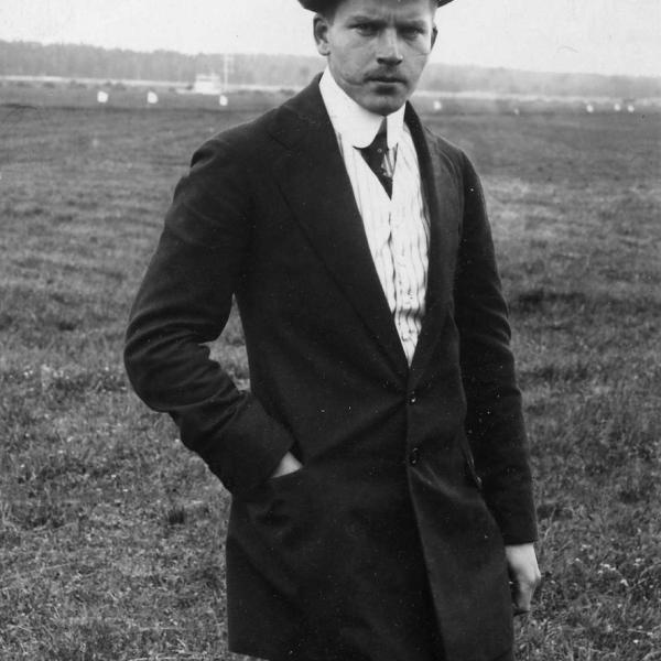 1.Авиатор Г.В.Янковский. 1911 г.