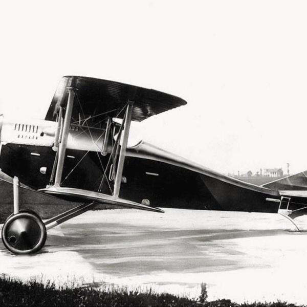 1.Истребитель Ansaldo A.1 Ballila.