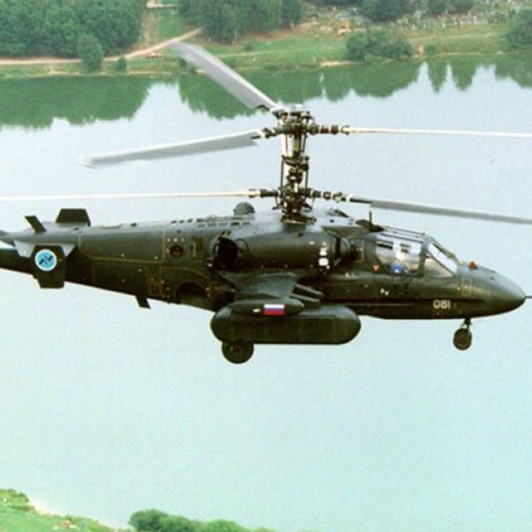 1.Ка-50 проходивший испытания по программе Ка-50-2