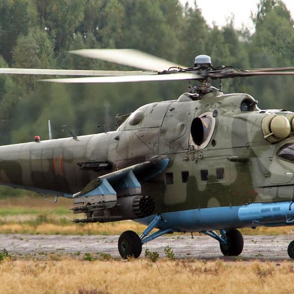1.Ми-24ПН - ночной. Отличается наличием тепловизионной системы Зарево.
