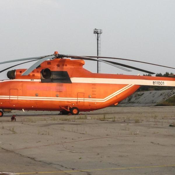 1.Ми-26ТС на стоянке.