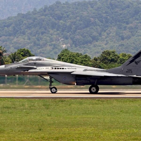 1.МиГ-29Н ВВС Малайзии.