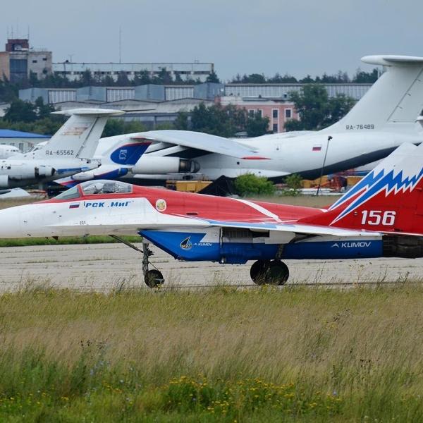1.МиГ-29ОВТ бортовой № 156.