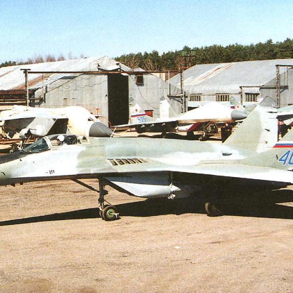1.Опытный МиГ-29СМ.