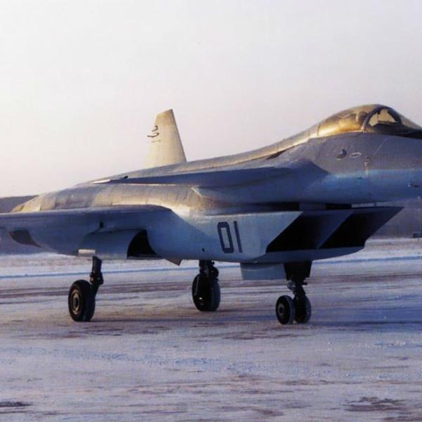 1.Опытный истребитель МиГ-1.44 (МФИ)